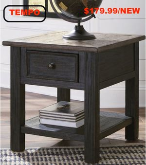 Rectangular End Table, Greyish Brown, #T736-3 for Sale in Downey, CA