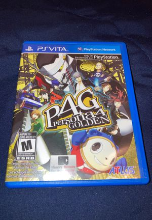 Persona 4 Golden PSVita for Sale in Pomona, CA