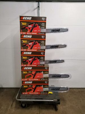 """New ECHO CS400 18"""" Chainsaws $270 FIRM. Retail $299 plus tax ($330) for Sale in Naperville, IL"""