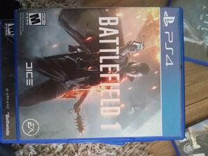 Battlefield 1 ps4 for Sale in Cobbtown, GA