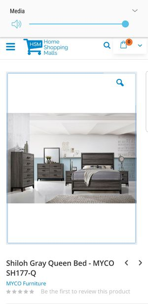 Queen size 4 piece bedroom set for Sale in Mineral Wells, MS
