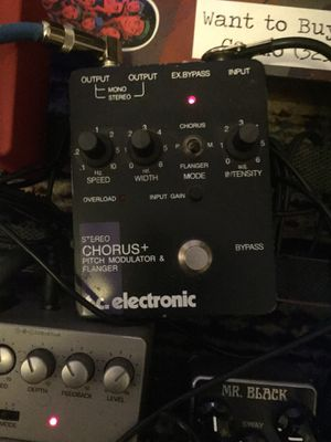 TC electronic flanger/chorus/pitch modulation for Sale in Portland, OR
