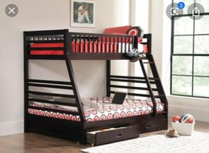 Brand New Twin/Full with Storage Drawers Bunk Bed for Sale in Tracy, CA