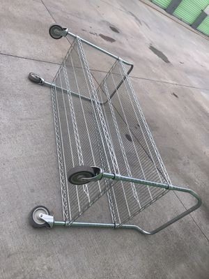 NFS GALVANIZED/ WIRE CART for Sale in Lake Forest, CA