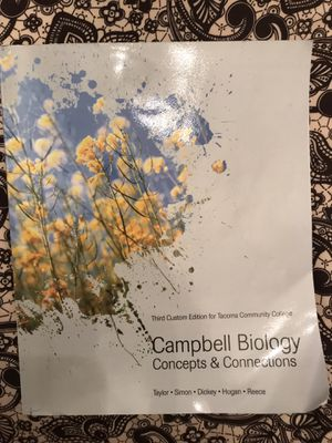TCC Biology Textbook for Sale in Fircrest, WA