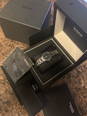 Rado watch with diamonds for Sale in Belmont, CA