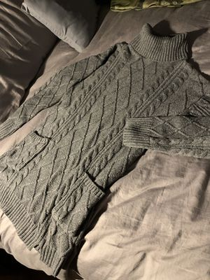Gray sweater dress size medium for Sale in Lake Forest, IL