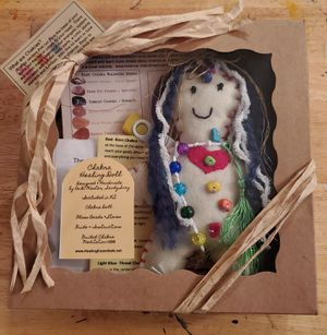 Chakra Healing Doll - Handmade for Sale in Nashua, NH
