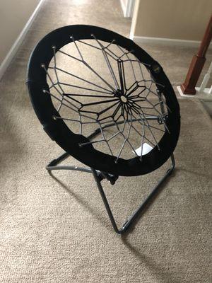 $10 bungee chair gamer video game kid children round cozy black gray gre for Sale in Aurora, CO