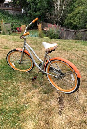Orange Huffy Cruiser Bike for Sale in Portland, OR