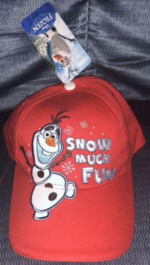 Frozen Olaf boys hat new for Sale in Riverside, CA
