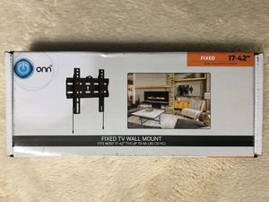 """ONN Fixed TV Wall Mount for 17""""-42"""" TVs for Sale in Charlotte, NC"""