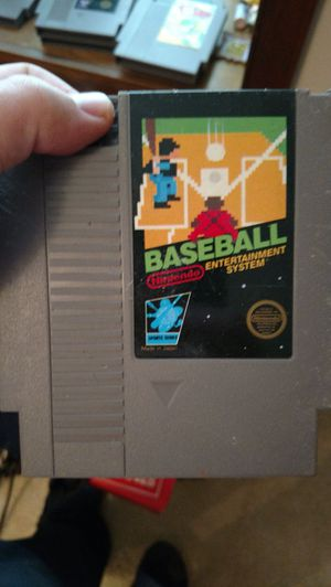 8bit nes baseball game for Sale in Appomattox, VA