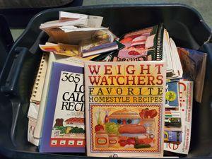 FREE Bin full of cookbooks and magazines for Sale in Birch Run, MI