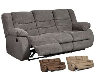 Reclining Sofa! 3 Color Options for Sale in Glendale, AZ