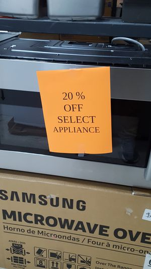 Samsung above the range microwave for Sale in Orlando, FL