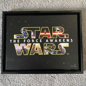 Star Wars Plaque/Picture for Sale in Ruskin, FL