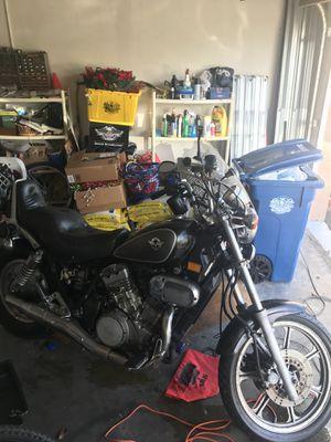2001 Kawasaki Vulcan 750 Cruiser Motorcycle for Sale in Sunrise, FL