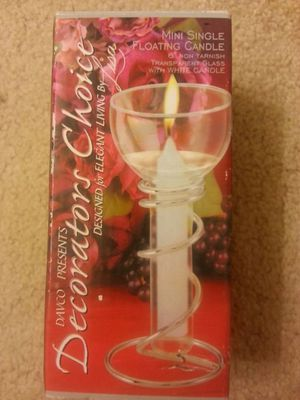 """6"""" Mini Single Floating Candle for Sale in McLean, VA"""