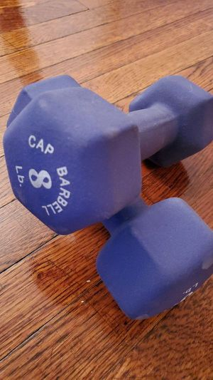 Dumbbells 8lb x2 for Sale in Queens, NY
