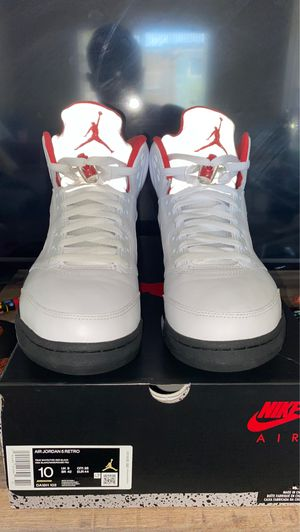 Jordan 5 Retros 2020 Fire Reds! Like New, worn 1 time. for Sale in Thornton, CO