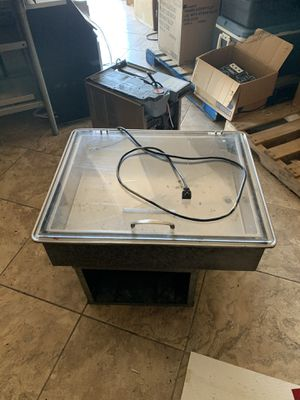 Dropping counter refrigerator with lid for Sale in Paradise Valley, AZ