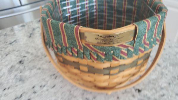 Longaberger Christmas collection