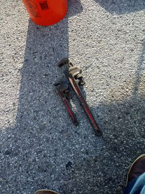 """RIDGIT HD WRENCH 10"""" AND 18"""" for Sale in Temple Terrace, FL"""