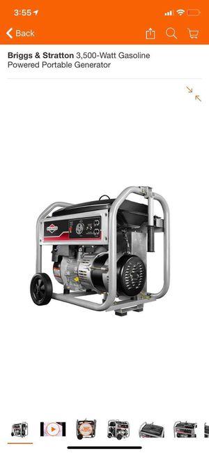 Generator 3500 watt for Sale in Albuquerque, NM