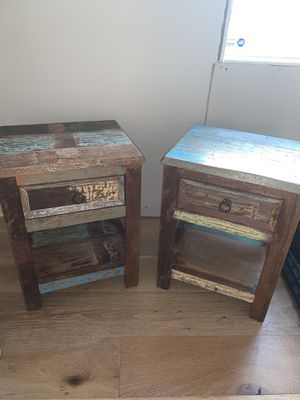 solid wood nightstands for Sale in Los Angeles, CA