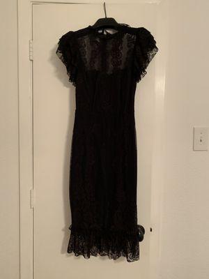 LULUS Black lace midi dress - size xs for Sale in Dallas, TX