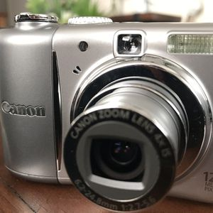 Canon PowerShot A1100 IS 12.1MP Digital Camera - Gray for Sale in San Diego, CA