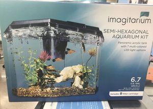 Hexagon aquarium for Sale in Phoenix, AZ