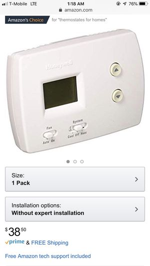 Honeywell PRO 3000 Non-Programmable Thermostat for Sale in Miramar, FL