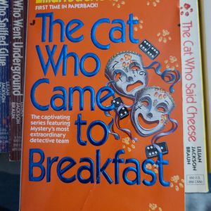 The Cat Who Came To Breakfast, Lillian Jackson Braun, Paperback for Sale in Kent, WA