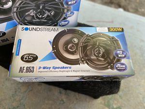 Soundstream door speakers for Sale in Modesto, CA