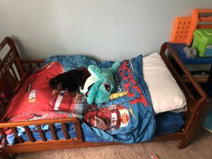 Toddler bed with mattress for Sale in Crownsville, MD