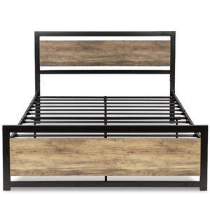 Metal Platform Bed Frame Full Size for Sale in Sunnyvale, CA