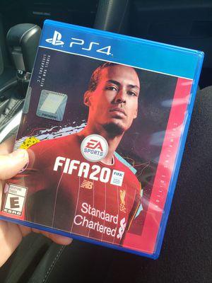 FIFA 20 ps4 for Sale in Miramar, FL