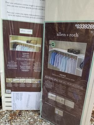 Closet organizer for Sale in Templeton, MA