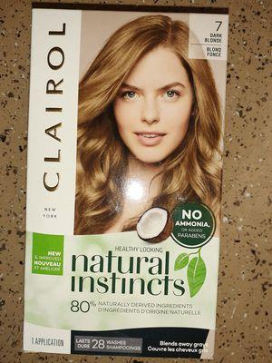 Natural Permanent Dark Blonde Hair Dye for Sale in Tucson, AZ