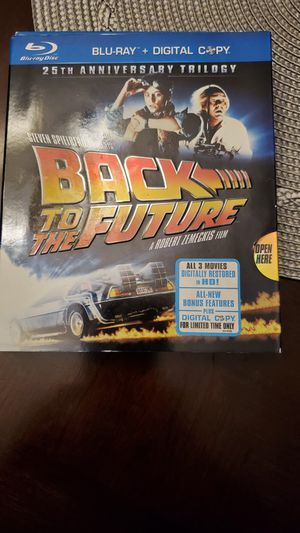 Back to the future 15th blue ray edition for Sale in Schaumburg, IL