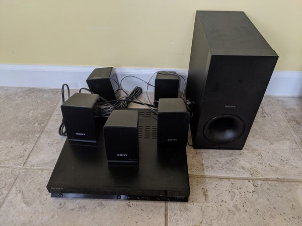 Sony 5.1 music system with DVD player