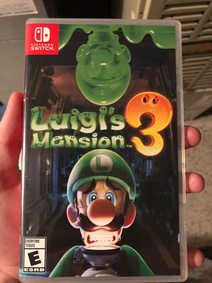 Luigis Mansion 3 (Open Box, Brand New 10/10 Condition) for Sale in Seattle, WA
