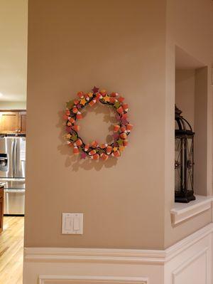 Super cute fall/halloween wreath! for Sale in Snohomish, WA