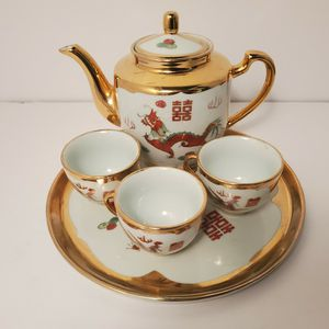 Vintage Chinese Zhongguo Tea Set for Sale in Fort Lauderdale, FL