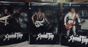 """Spinal Tap Action Figures by Sideshow Toys 2000 12"""" full set for Sale in BETHEL, WA"""