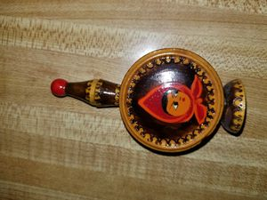 Vintage Bulgarian Wooden Perfume Vial Holders with 2 Poza Vial of Perfume Bottles for Sale in Springfield, OR