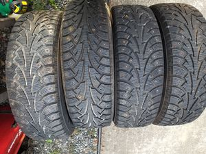 Studded snow tires for Sale in Everett, WA