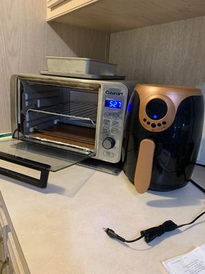 Cuisanart toaster oven and air frye r. Both work perfect. Moving and no room. for Sale in Fellsmere, FL